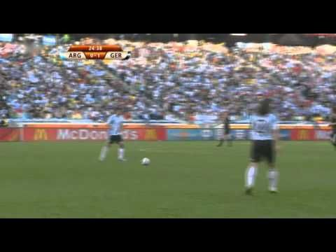 Germany - Argentina WorldCup 2010 Full Game