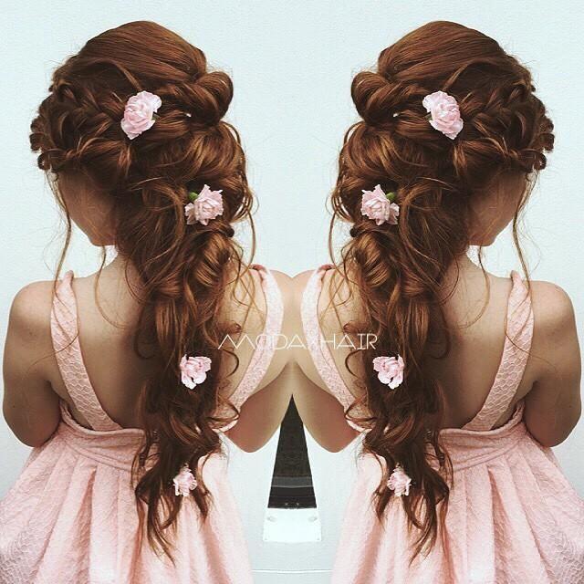 #beautiful #bridal #hair
