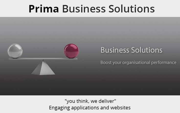 Prima Business Solutions works with you to provide a tailored #IT_Solution for your #business. we offer a wide range of powerful #software packages to increase the efficiency of your #business. http://primabusinessuk.com/business-solutions.html