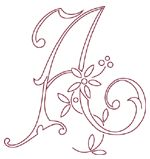 Monogram Alphabet for Hand Embroidery  Source: needlenthread blog