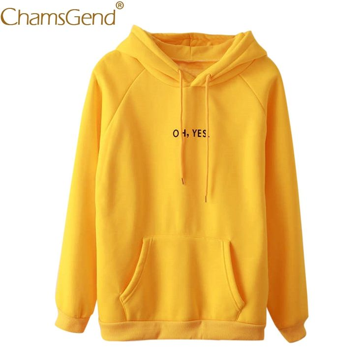 $9.22 /Cheap hoodies women, Buy Quality yellow hoodie directly from  Chamsgend Hoodies Women Girls Casual Autumn Winter HO,YES Letter Print Yellow Hoodie Sweatshirt moletom Shirt Tops 71218 #womensfashion #womenswear #womenshealh #womensrights #womensday #ladies #womenclothing #tshirt #tshirtdesign #jacket #jumper #sweatshirts #mothersday #menswear #menshair #womenshair hoodie outfit, hoodies, hoodies for teens, hoodie dress, hoodie outfit winter, #chrismasday #fathersday