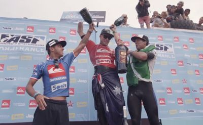 Mick Fanning claims Quik Pro France title