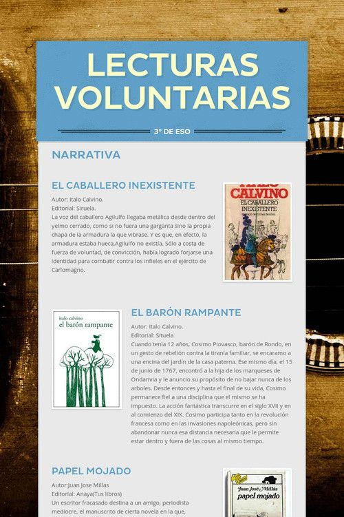 Lecturas Voluntarias