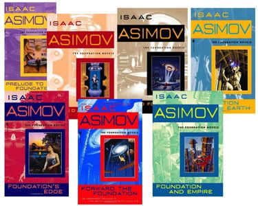 Here's a recap of the week as we got to know a bit about Isaac Asimov and the Foundation Trilogy.