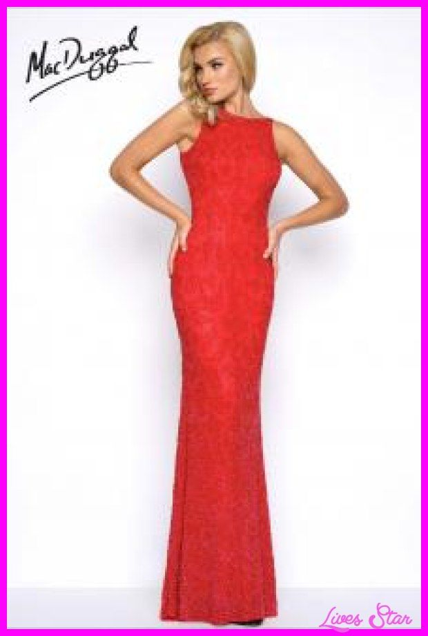 cool Red prom dresses
