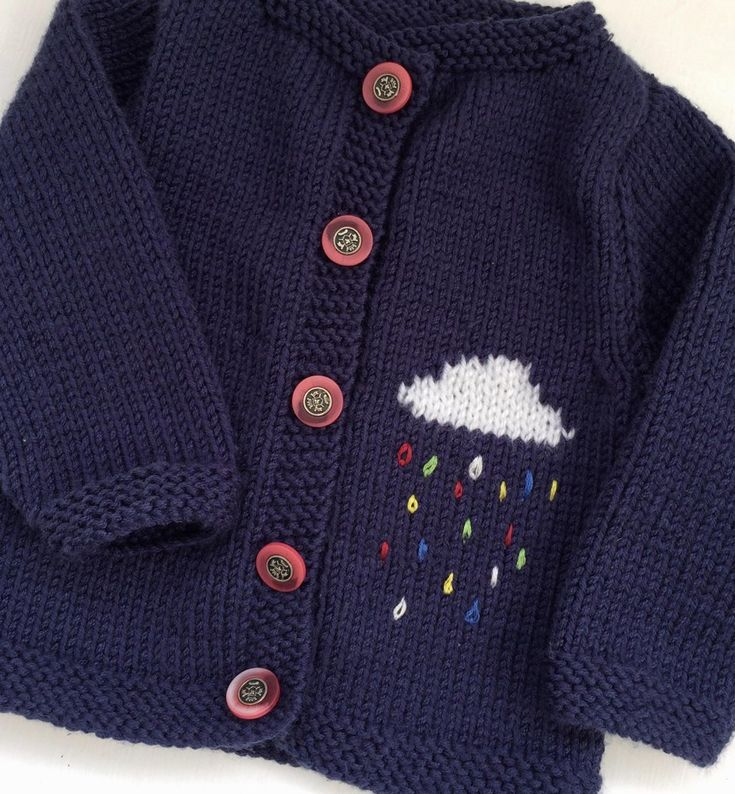 April Showers Knitting pattern by Daisy, a fun cardigan patter for your little one! Find this pattern at LoveKnitting.Com.