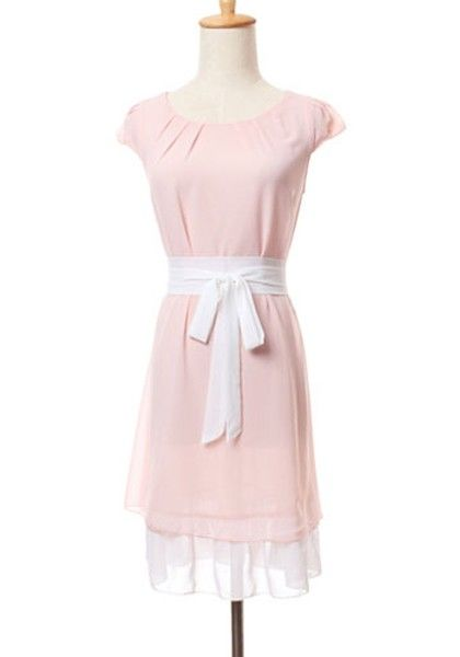 whatgoesgoodwith.com light pink sundress (04) #cuteoutfits