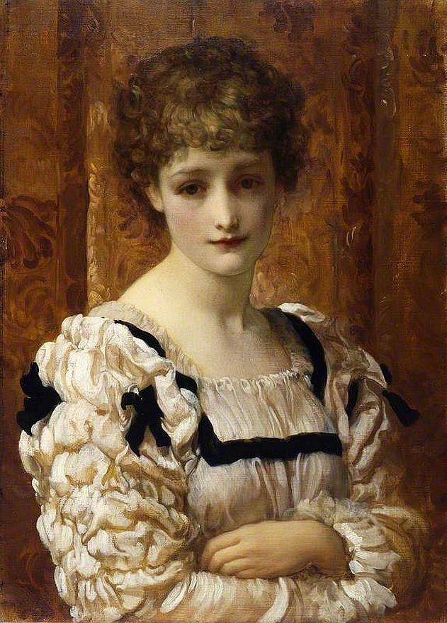 Frederic Leighton - Bianca (Shakespeare's The Taming of the Shrew)