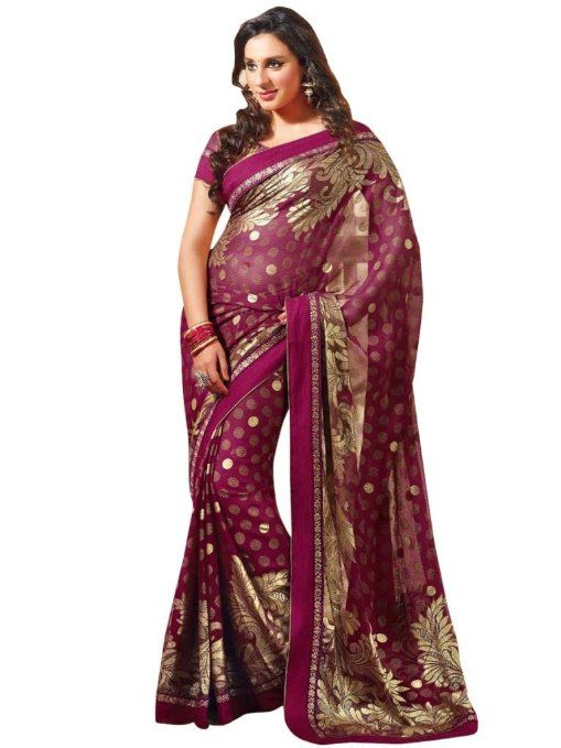 Amazon.com: Exclusively Designer Saree: Clothing