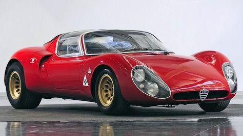 Alfa Romeo Tipo 33 Stradale – 1967-69 – autobild.de