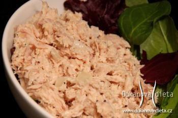 Tuňákový salát Dukanova dieta