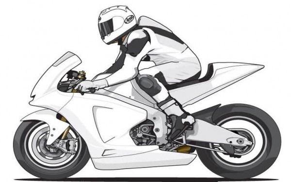 Fotos De Motos Para Colorear Moto Para Colorear Bicicleta Dibujo Motos Dibujos