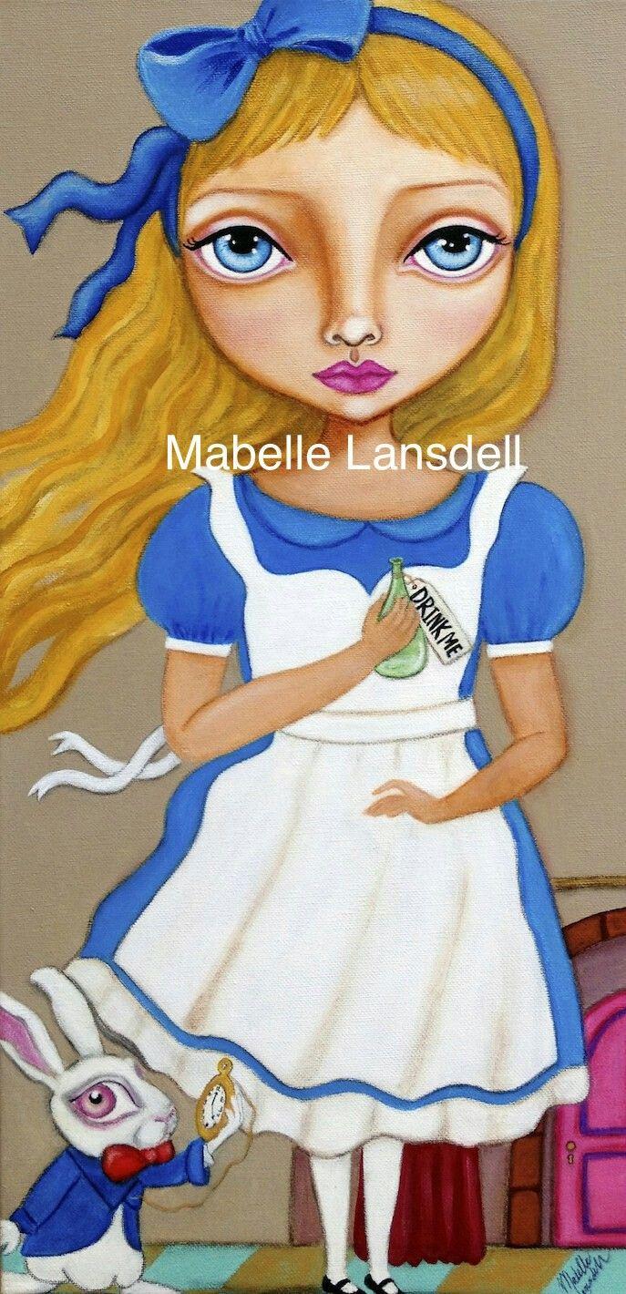 Alice in Wonderland by Mabelle Lansdell