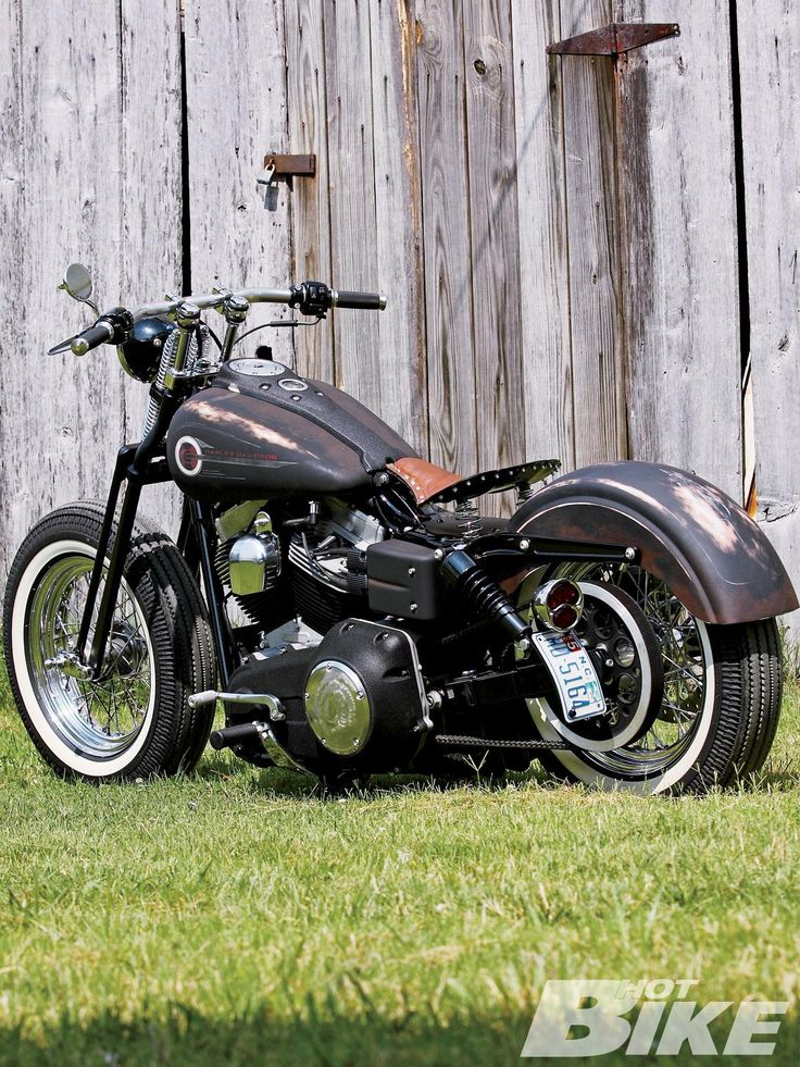 Dirty Milk Money | 2006 Harley Davidson Wide Glide | Hot Bike