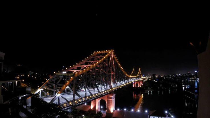 Brisbane new year 2014 sunrise timelapse comprising of 1088 photos over a 3hr period #timelapse #brisbane #australia #sunrise #queensland #storybridge