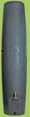 De Regenzuil - 400 liter hemelwater opslag op diameter van 50cm. De regenpijp vanaf het huis richting de moestuin leiden en daar deze regenzuil plaatsen.