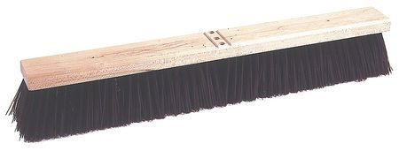 Tough Guy Rough Surface Push Broom Head, Red