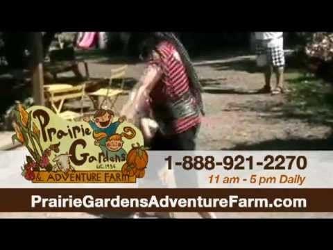 Prairie Gardens & Adventure Farm | Bon Accord, Alberta 35 acres of old fashioned fun just north of Edmonton