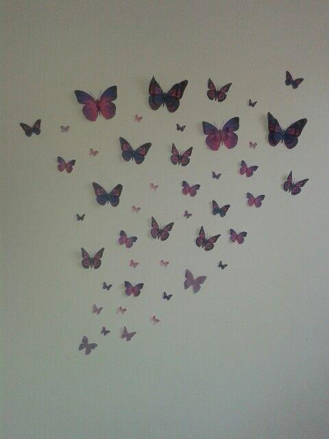Leani's butterfly wall