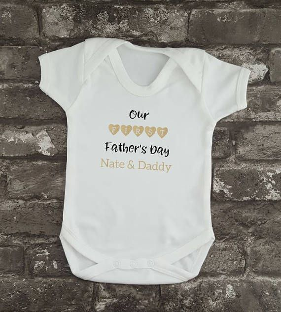 Personalised First Father's Day Hipster Father's Day