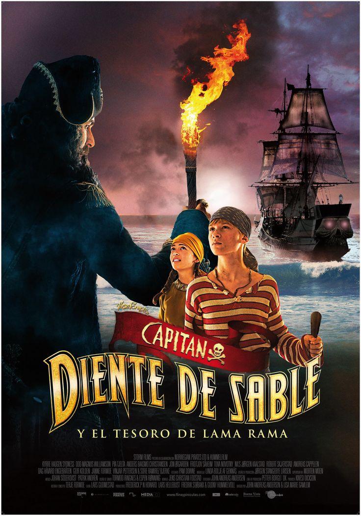 2014 - Capitán Diente de Sable y el tesoro de Lama Rama - Kaptein Sabeltann og skatten i Lama Rama - tt2664712