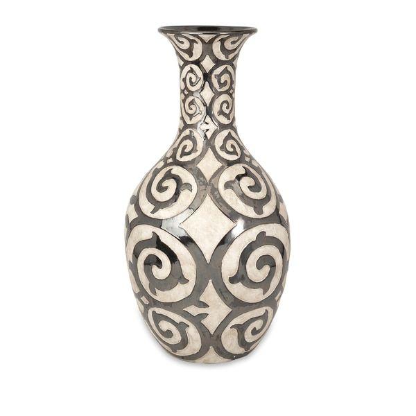 benigna oversized tall floor vase