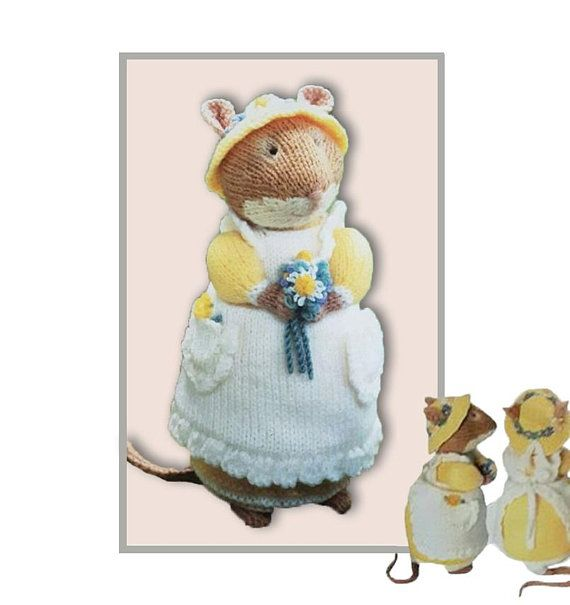 PRIMROSE Brambly Hedge Collection pattern at ETSY and https://www.yarnpassion.com/product/brambly-hedge-primrose/