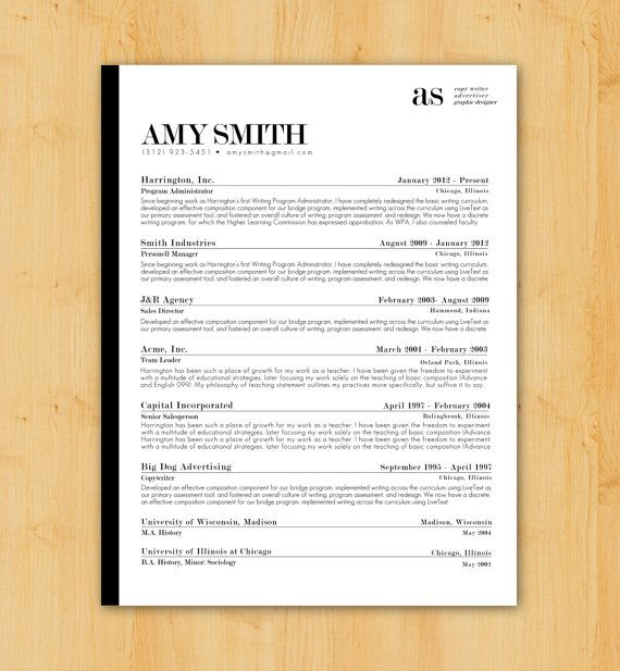 39 best Resumes \ Cover Letters images on Pinterest - cover letter ideas for resume