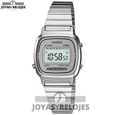 ⬆️😍✅ Casio - Reloj de Mujer metálico Plata ✅😍⬆️ Sublime Modelo de la Colección de Relojes Casio PRECIO 27.99 € En Oferta Limitada en 😍 https://www.joyasyrelojesonline.es/producto/casio-reloj-de-senora-metalico-plata/ 😍 ¡¡Edición limitada!!
