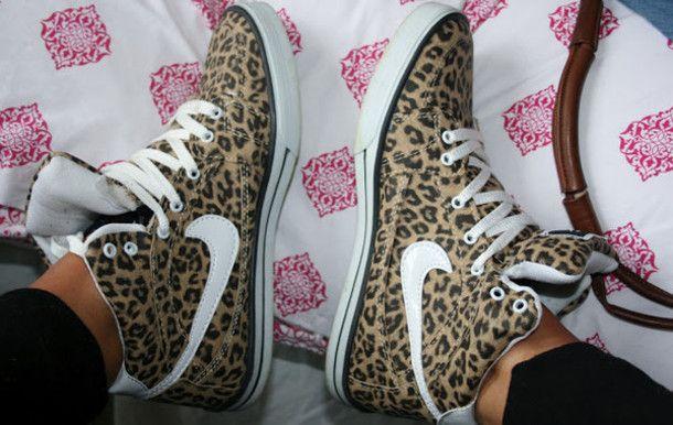 leopard print | , white laces, animal print shoes, leopard print, leopard, leopard ... ★ DiamondB! Pinned ★