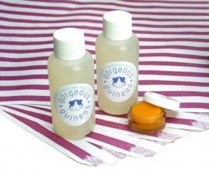Ever wished you could massage your guinea pig's feet? Now you can, with Gorgeous Guineas aromatherapy products