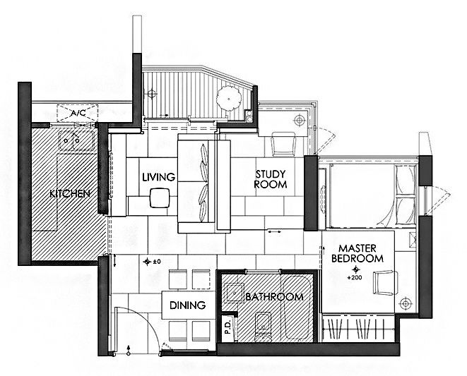 Gallery Of House Plans Under 50 Square Meters 26 More Helpful Examples Of Small Scale Living 48 Small Apartment Plans Tiny House Floor Plans House Plans