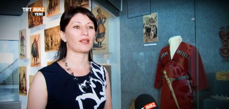 Circassian museum, Çerkes müzesi müdür yardımcısı (aile adı Euith)