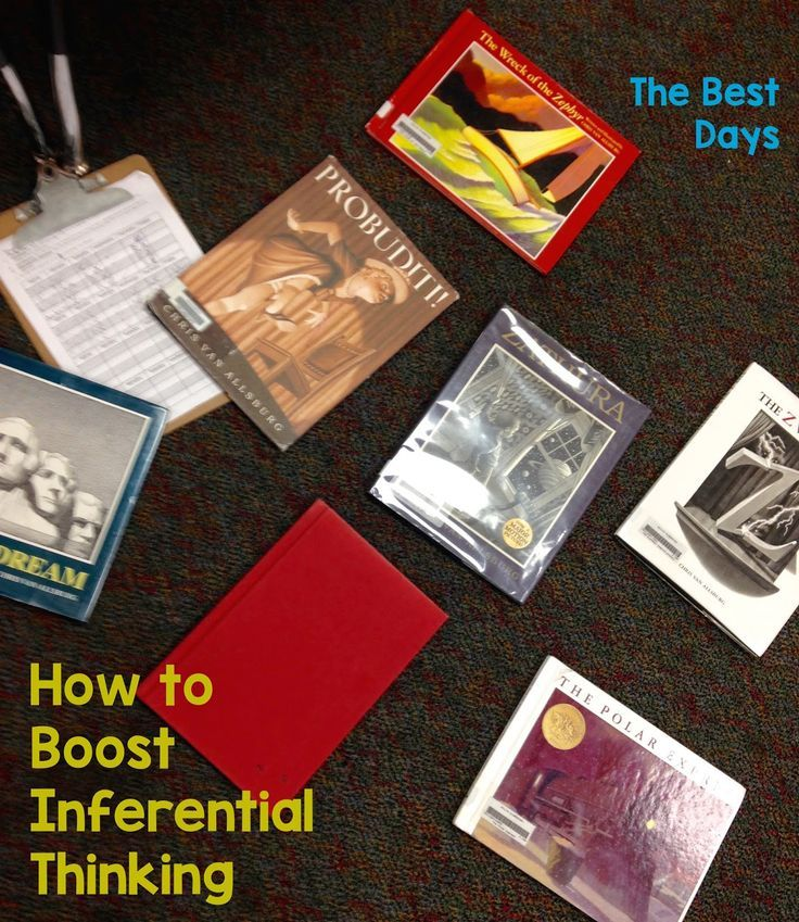 The BEST Days:  Are you wondering how to boost your inference instruction?  Check out how an Author Study can do just that!