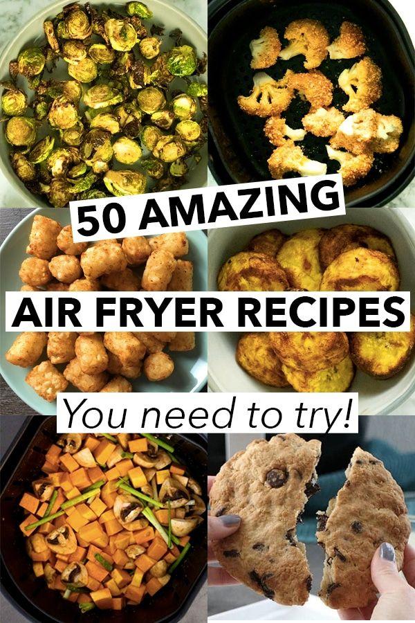 50 Amazing Vegan Air Fryer Recipes Because I M Obsessed Vegan Recipes Easy Recipes Air Fryer Recipes