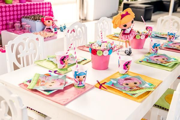 Lalaloopsy Doll Themed Girl Sewing Birthday Party Planning Ideas