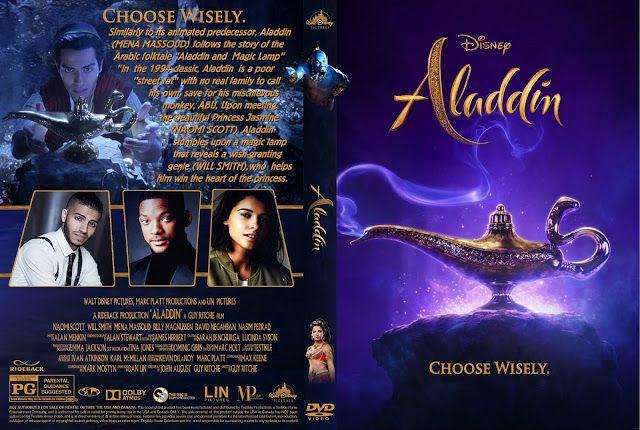 Aladdin 2019 Dvd Cover Aladdin Dvd Aladdin Movie Covers