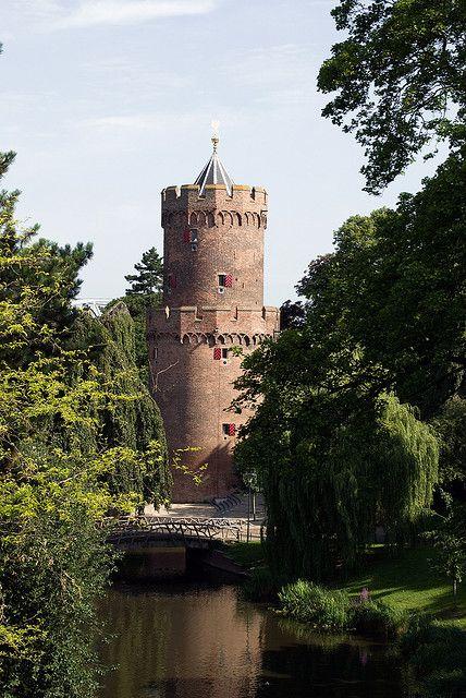 The Powder Tower in Kronenburger Park, Nijmegen, Netherlands