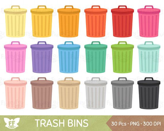 Trash Bin Clipart Garbage Can Clip Art Waste Bins Cliparts Cleaning Recycle Environment Clean Icon Graphic Png Download Commercial Use Trash Bins Camera Clip Art Can Clipart