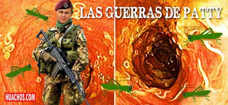 MINSA declara la guerra a los parásitos que atacan la flora intestinal de los peruanos anémicos y también una guerra de guerrillas contra los temibles grillos.