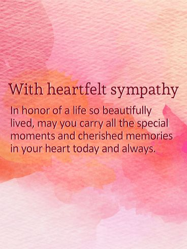 20 best Sympathy Cards images on Pinterest Anniversary greetings - sympathy message