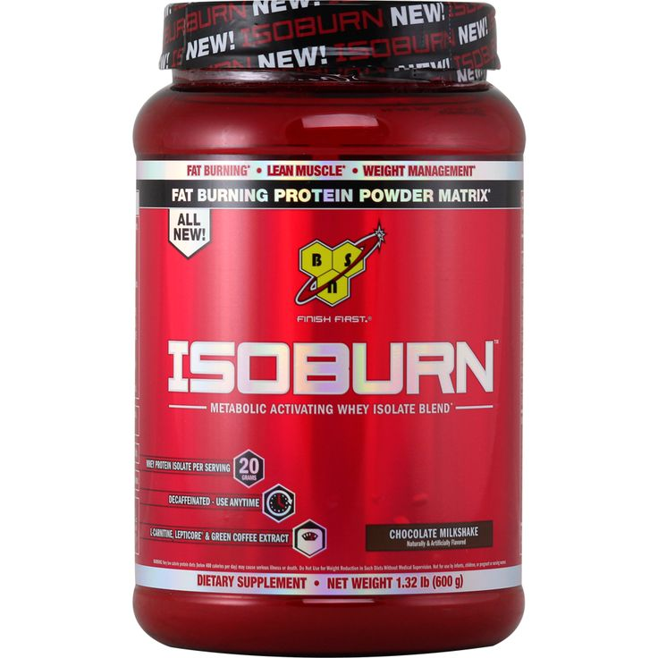 BSN IsoBurn Chocolate 1.32 lbs | Regular Price: $49.99, Sale Price: $32.99 | OvernightSupplements.com | #onSale #supplements #specials #BSN #ProteinPowder  | Fat Burning Protein Powder MatrixIsoburn Metabolic Activating Whey Isolate Blend 20 Grams Whey Protein Isolate Per ServingDecaffeinated Use AnytimeL Carnitine LeptiCore Green Coffee Extract2 in 1 ProductThe science of weight loss doesnt have to be complicated Put in the hard work make smart nutritional choices and you ca