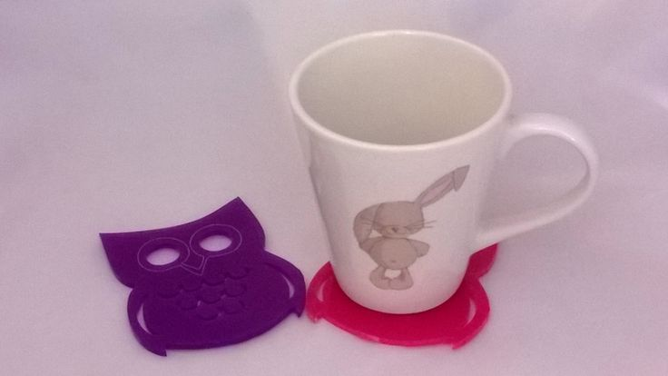 owl coasters - so cool want some for my living room!