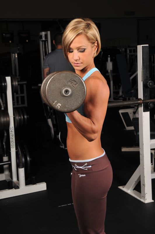 weight training to lose weight women