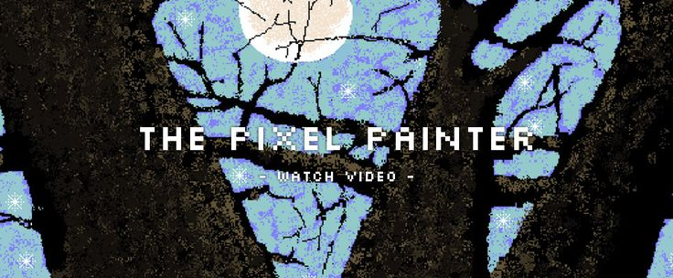 Meet 97-year-old Hal Lasko, The Pixel Painter. His family introduced him to the computer and Microsoft Paint long after he retired. Now, he spends ten hours a day moving pixels around his computer paintings.