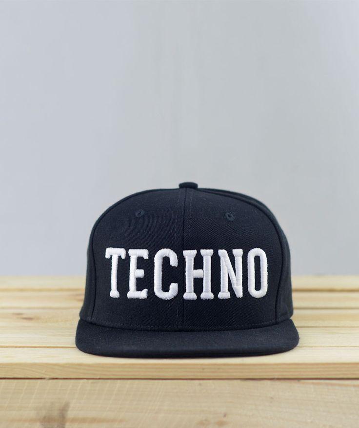 Techno Snapback #techno #rave #snapback #laut