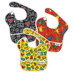 Bumkins 3 Pack Waterproof SuperBib --- http://previ.us/1ao: Haring Superbib, Baby Products, Waterproof Superbib, Bumkin Bibssimpli, Packs Waterproof, Haring Bibs, Keith Haring, Baby Favorite, Baby Stuff