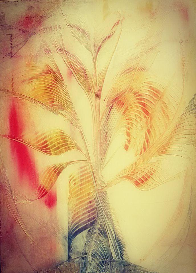 Spațiu în care sunetul și timpul se împletesc făurind o unică structură, ce își adună punctele de lumină în ramuri ce se aseamănă între ele, devenind hrană divină mișcării eternului. Legea firii învață că și cel de sus, și cel de jos, își au rolul lor, puncte ce susțin începutul și sfârșitul în existență. #work_in_progress #copacul_sufletelor #acrilic #melaniadony