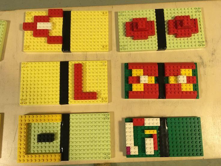 L-uge. Ligedan opgave med LEGO (symmetri-opgave)