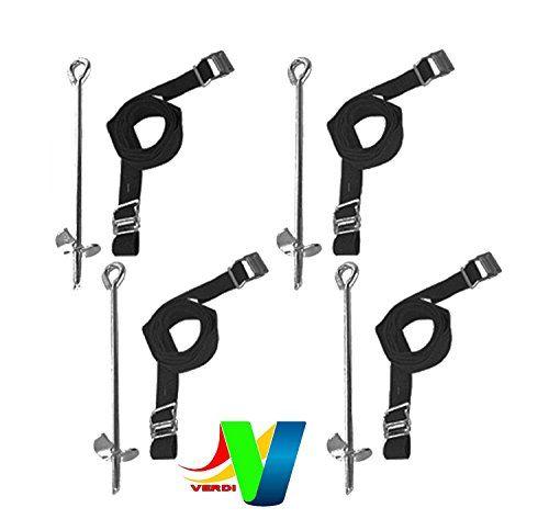 Heavy Duty Galvanized Trampoline Anchor Tie Down Kit - Fits all Jumpking Trampolines, TP Trampoline, Plum Trampoline, Supertramp Trampoline Verdi http://www.amazon.co.uk/dp/B017PN68L4/ref=cm_sw_r_pi_dp_YBOpwb19GC2HX